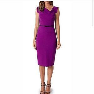 Black Halo Jackie O Tailored Sheath Dress